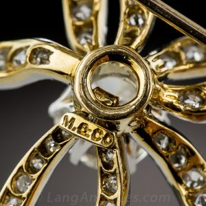 Marcus & Co. Edwardian Bow Brooch