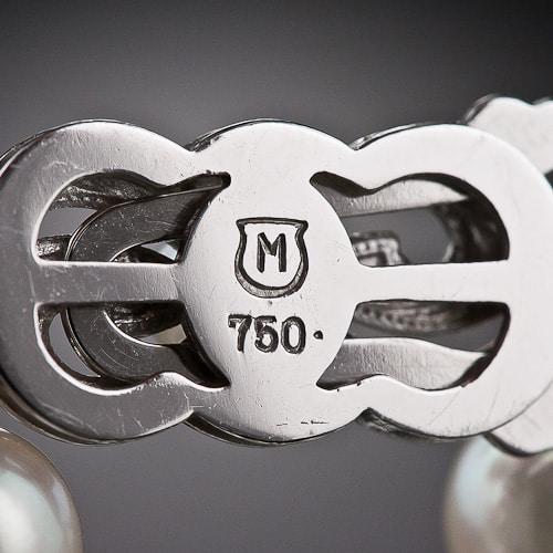 Mikimoto Maker's Mark.
