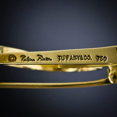Paloma Picasso, Tiffany & Co. Maker's Mark.