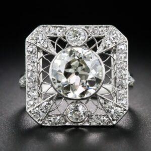 Edwardian Lacework Diamond Ring c.1915-20.