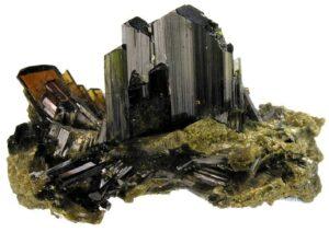 Epidote Crystals.