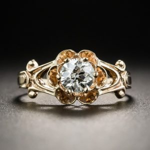 Victorian Diamond Engagement Ring.