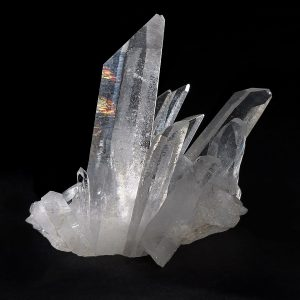 Quartz Crystal with Vitreous Luster.