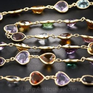 Multi-Gemstone Necklace.