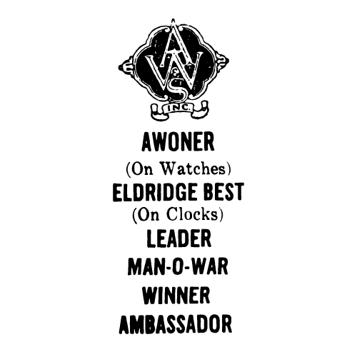 Aisenstein-Woronock & Son's Inc. Maker's Mark