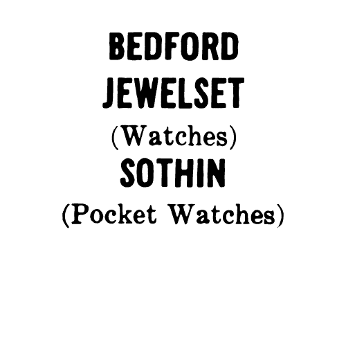 Bedford Watch Co. Maker's Mark