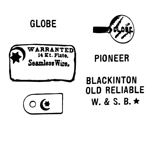 Blackinton Co., W. & S. Maker's Mark