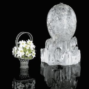 Winter Egg for Dowager Empress Maria Feodorovna, Easter 1913. Alma Pihl, Designer for Fabergé