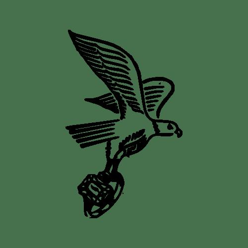 Falcon Stone Ring Mfg. Co. Maker's Mark