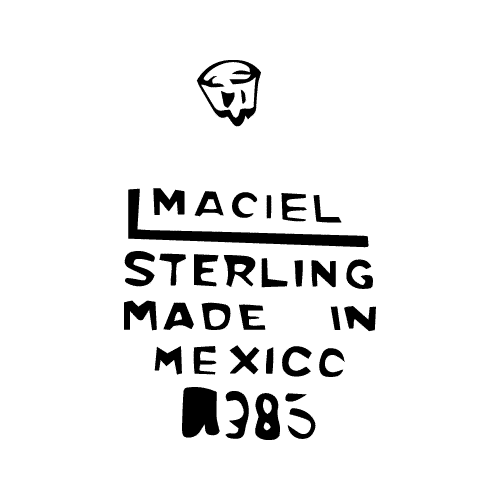 Maciel Silver Factory Maker's Mark