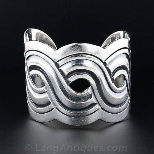 Mexican Silver Cuff Bracelet
