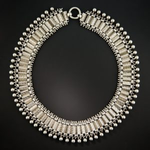 Victorian Sliver Collar.
