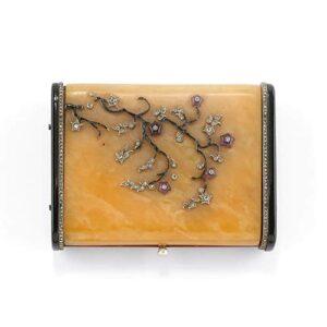 Art Nouveau Vanity Case.