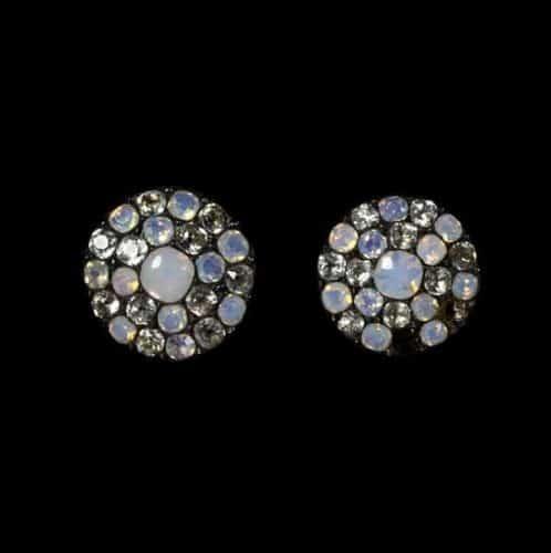 Opaline Glass Buttons c.18th Century. ©Victoria & Albert Museum.