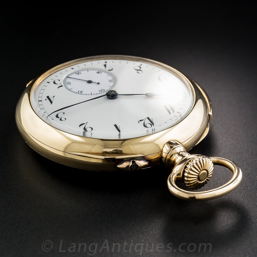 Repeater Remontoir Pocket Watch.