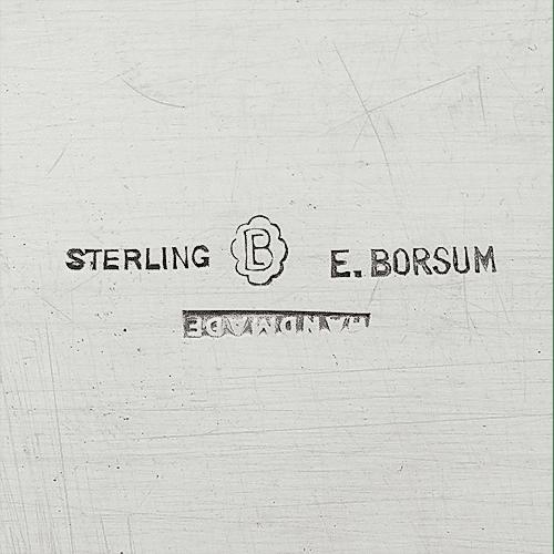 Borsum, Eivind Julius Maker's Mark Photo Courtesy of Toomey & Co. Auctioneers.