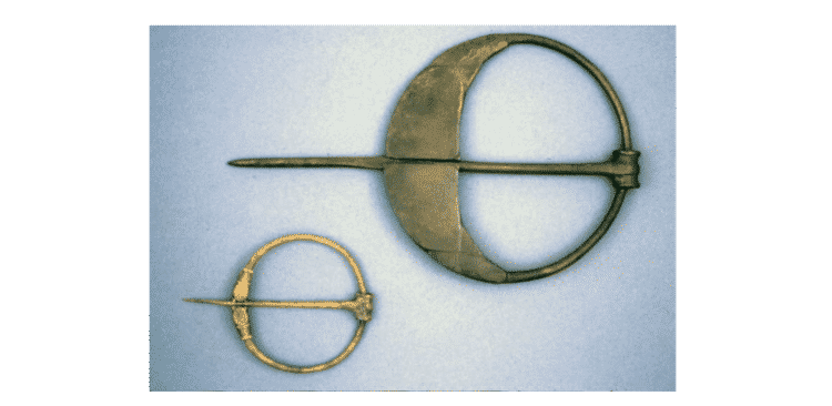 Celtic Penannular Brooches, c.7th-8th Century. © The Trustees of the British Museum.