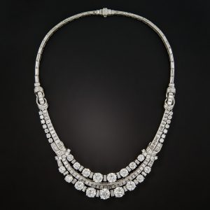 Boucheron Diamond Necklace, c. Mid-Century.