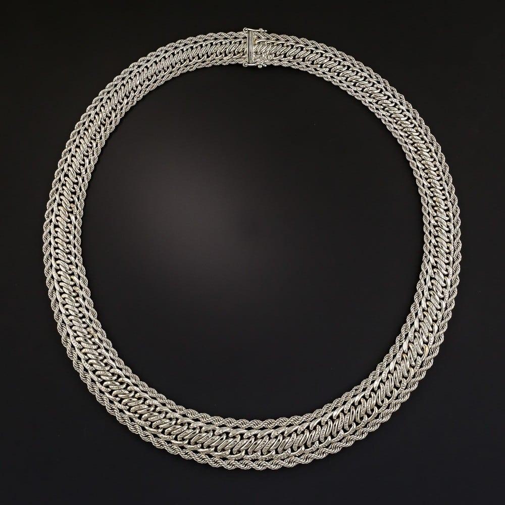 Boucheron Platinum Necklace.