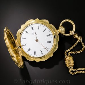 Antique Pocket Watch with Cuvet.