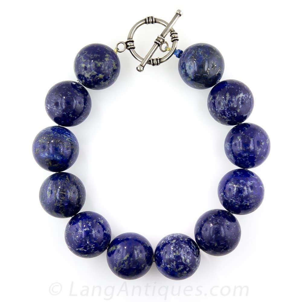 Lapis Lazuli Beads.