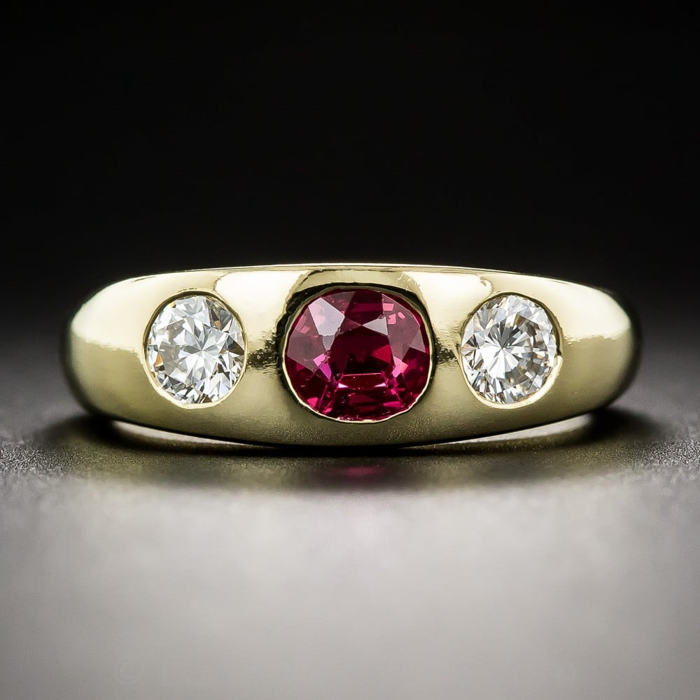 Burma Ruby and Diamond Ring, by Shreve, Crump & Low.