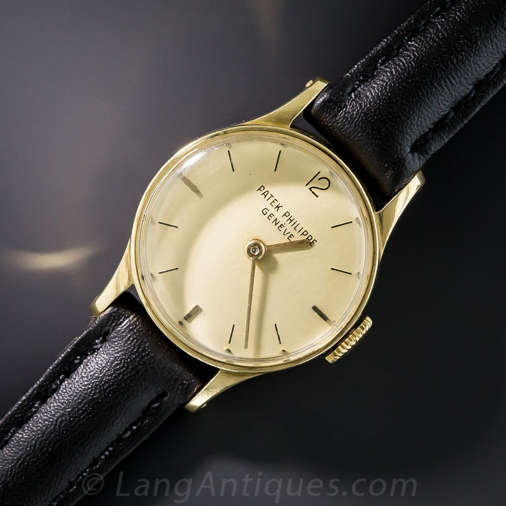 Patek Phillipe Calatrava Wristwatch.