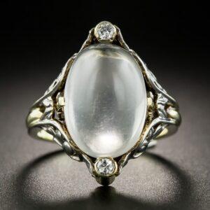 Arts & Crafts Moonstone Ring, Allsopp Bros.