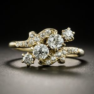 Late Victorian Diamond Ring.
