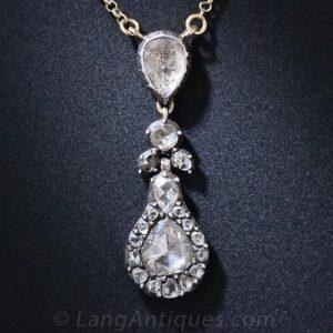 Georgian Diamond Necklace.