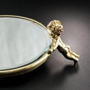 Ruser Mid-Century Vanity Mirror.