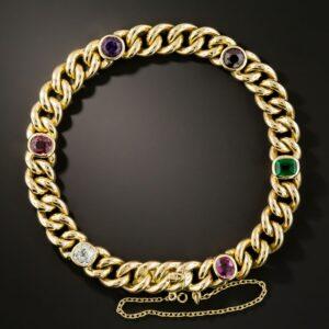 Gem-Set Vintage Regard Bracelet.